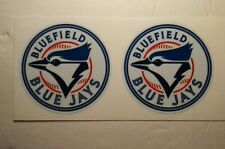 "(2) Bluefield Blue Jays (2.5"") Diy Stickers Decals Great for Yeti"