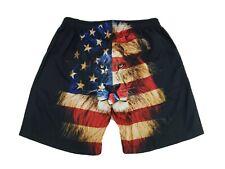 Mr. 1991 Inc & Miss León Pantalones Cortos Bandera Americana Para Hombre XXL Patriótico 4th A20 de julio