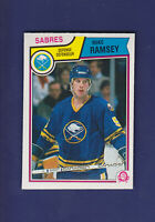 Mike Ramsey 1983-84 O-PEE-CHEE OPC Hockey #70 (NM+) Buffalo Sabres