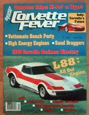 CORVETTE FEVER 1988 MAY - INDY CORVETTE, L-88s