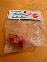 """vintage Woolworth Miniature Collections Gas Lateen 2"""" DH1"""