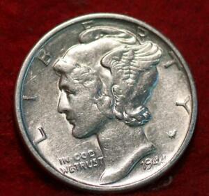Uncirculated 1944-S San Francisco Mint Silver  Mercury Dime