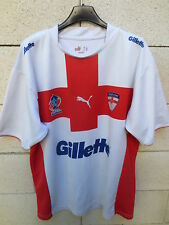 VINTAGE Maillot rugby league ANGLETERRE ENGLAND shirt Australia 2008 XIII Puma L