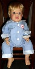 "Lee Middleton Doll ""Buddy"" # 126 of 650 21"" Reva Schick Vinyl/Cloth with COA/Box"