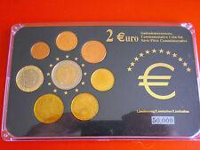 * Luxemburgo euro kms con 2 euro gedenkmünz e 2008 *