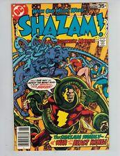 SHAZAM! 35 Captain Marvel Family vs King Kull!  SABBAC! 1978 VF FINAL ISSUE!
