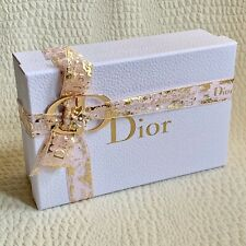 DIOR White Gift Box with Ribbon NEW Empty