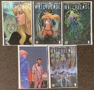 Witchblade #1,2,3,4,5 Image Comics Kittredge Ingranata Valenza Lot Nm