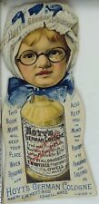 Bookmark Girl Glasses Bonnet Hoyt's German Cologne Rubifoam Tooth Powder P41