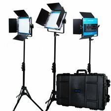 Dracast LED500 X Series Bi-Color LED 3 Light Kit with Injection Molded Travel...