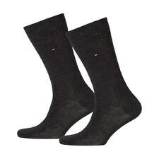 6 Paar Tommy Hilfiger Socken Classic 43-46 anthrazit