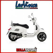 8571E MARMITTA LEOVINCE VESPA GTS 300 SUPER 2014- LV ONE EVO INOX/CARBONIO