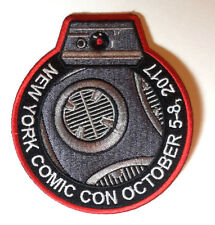 "Star Wars BB-9E Droid 4"" New York Comic Com 2017 Patch- ADVANCE SALE! SWPA-LJ-01"