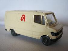 Wiking 280 HO MB 207 D Kastenwagen Apotheke (RG/BA/2S6)PL16