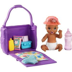 Barbie Skipper Babysitters Inc. Changing-Time Baby Doll and Accessories