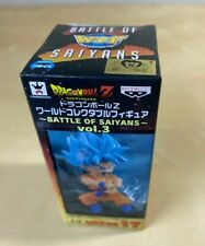 Banpresto Dragon Ball Z Battle Of Saiyans Vol.3 WCF SSGSS Goku