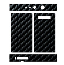 Skin Wrap for Snow Wolf 200W TC MOD Decal Vape Sticker - BLACK CARBON