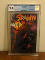 Spawn #2 CGC 9.4 NM    1st Appearance of Violator GREAT COVER See description !!