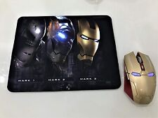 Computer Mouse Taonology Iron Man Wireless Gaming 2.4G With Usb Nano Receiver Fo