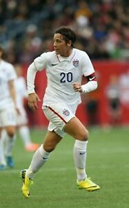 USWNT Nike official match shorts version worn by Abby Wambach #20