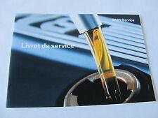 Carnet entretien français  BMW Z4 E85