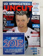 UNCUT Magazine DAVID BOWIE New Album BLACKSTAR + CD January 2016 ROGER WATERS