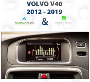 Volvo V40 2012 - 2019 Apple CarPlay & Android Auto Integration
