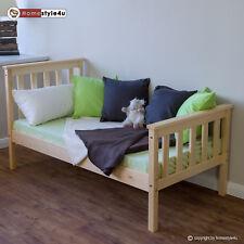 Juniorbett Kinderbett Bett Jugendbett Holzbett Bettgestell 70x140 natur Holzbett