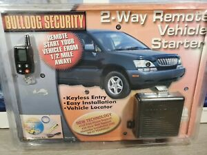 Bulldog Security 2-Way Remote Vehicle Starter Model Deluxe 200 New in Box