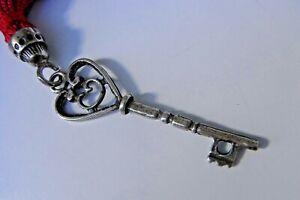 800 Silber Schlüssel - Anhänger ~ Trachten ~ Kette ~ Glücksbringer ~ Schatulle