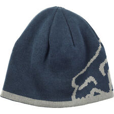 Fox NEW Men's Streamliner Beanie - Navy / Grey BNWT