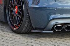 Approccio posteriore DIFFUSORE SPOILER Angoli parti laterali in ABS Audi TTS 8j