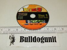 Dragonball Z Season Five DVD 5 Disc 1 Only Episodes 140-145 Funimation 2007
