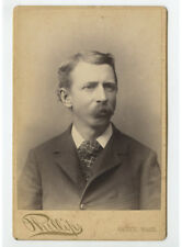 Cab Card Photo Man From Natick, Mass, By Phillips
