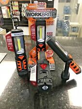 NEBO WORK-BRITE 2 RECHARGEABLE WORK LIGHT WITH MAGNETIC BASE