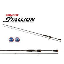 Konger Stallion Hybride Clair 223 2-14 G jigrute Canne à lancer Fuji Guides