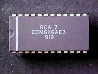 CDM6116AE3 - RCA Integrated Circuit (DIP-24)