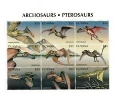 Guyana - 1997 - Dinosaurs - Sheet Of 9 - MNH