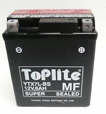 TOPLITE YUASA Motorrad Batterie YTX7LBS 6AH