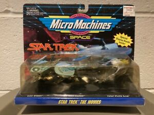 """GALOOB / MICRO-MACHINES - """"STAR TREK THE MOVIES: COLLECTION #2  (3-MINI SHIPS)"""