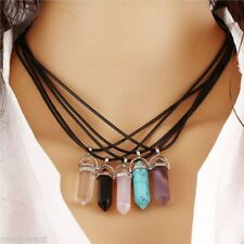 Marquise Gemstone Charm Costume Necklaces & Pendants
