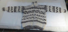 Northwest Coast Canada First Nations ORIGINAL COWICHAN Sweater LARGE