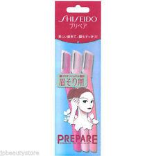 SHISEIDO Japan Eyebrow Guarded Razor, facial hair removal (3pcs) ship from US