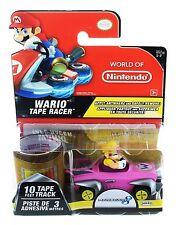 World of Nintendo TAPE RACER Series 1-2 WARIO STADIUM TAPE VHTF MARIO KART 8