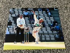 Shane Warne Hampshire Australian cricket legend, signed 10x8