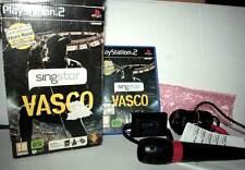 SING STAR VASCO GIOCO USATO BUONO SONY PS2 EDIZIONE ITALIANA JB2 41706