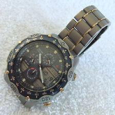 Citizen Promaster Navihawk Titanium Worldtime Chronograph WR100 - C300 Vintage