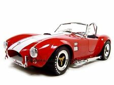 1965 SHELBY COBRA 427 SC RED 1:18 DIECAST MODEL CAR SHELBY COLLECTIBLES SC122
