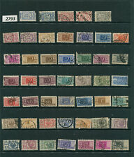 #2793/96-Italy Area- 130 Used/Mnh/Mh stamps-various years-mixed condition-dups