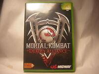 XBOX Mortal Kombat : Deadly Alliance